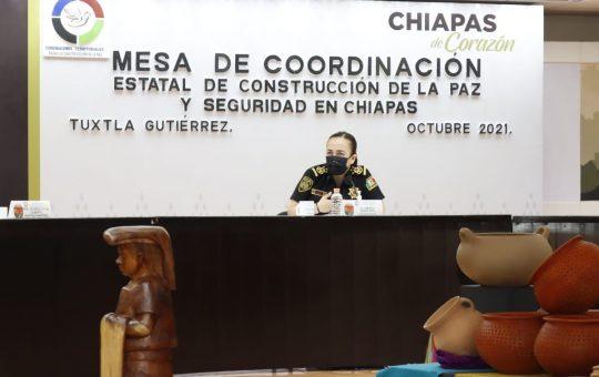 Encabeza Zepeda Soto Mesa de Seguridad en representación del gobernador