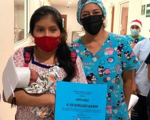 Hospital General de Tapachula da de alta a bebé prematuro tras exitosa recuperación