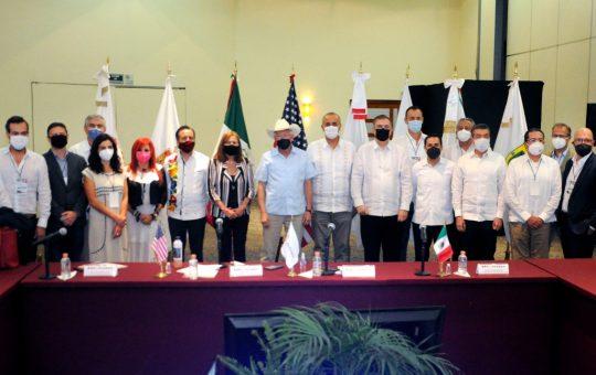 Junto a los gobiernos de México y EUA, trabajamos para impulsar el desarrollo del Sur-Sureste Rutilio Escandón