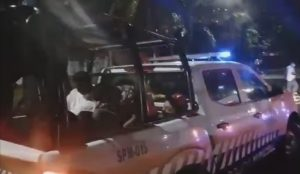 Rescatan en costas de Mazatán 14 nicaragüenses, aseguran gasolina, motor fuera de borda y dinero
