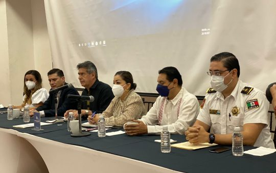 Se reúne Carlos Morales con empresarios de Coparmex Chiapas