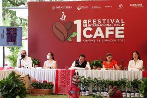Se suma UNICACH al Primer Festival Internacional del Café