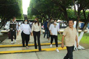 Supervisa Rosy Urbina trabajos de rescate del Parque en ejido Raymundo Enríquez